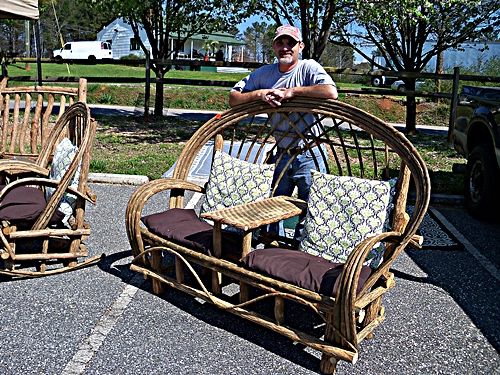 Years At 400, Justin Hasty Can Be Found Out Front With His Beautiful Willow  Furniture. Donu0027t See Exactly What You Have In Mind?