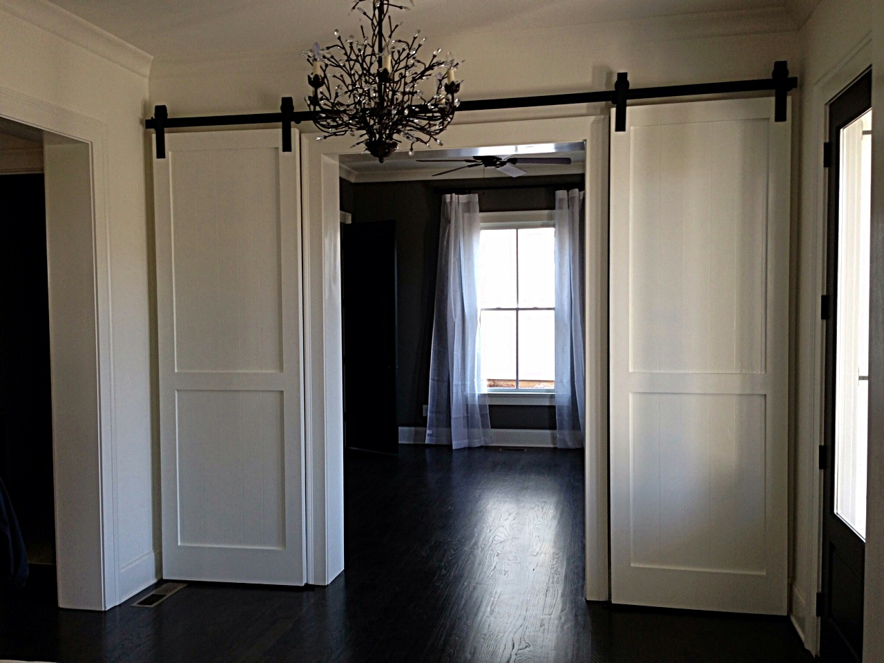 doors barn doors and double doors on pinterest. Black Bedroom Furniture Sets. Home Design Ideas